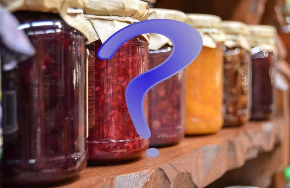 Jam Shelf Question Mark