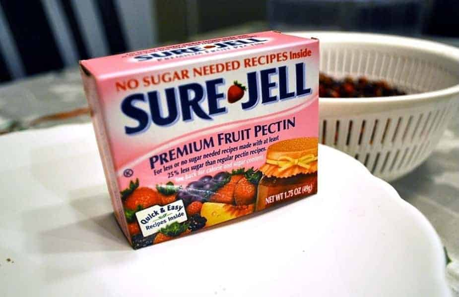 Sure-Jell Fruit Pectin Box