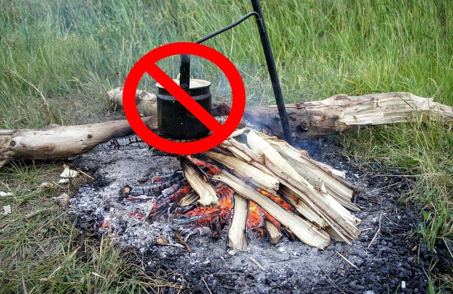 Campfire With No Pot