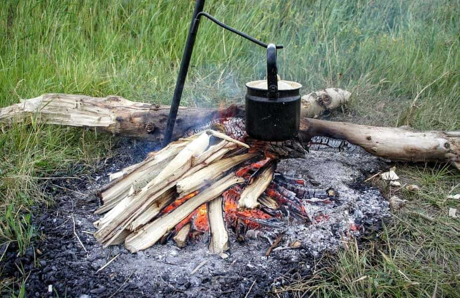 Campfire With Pot