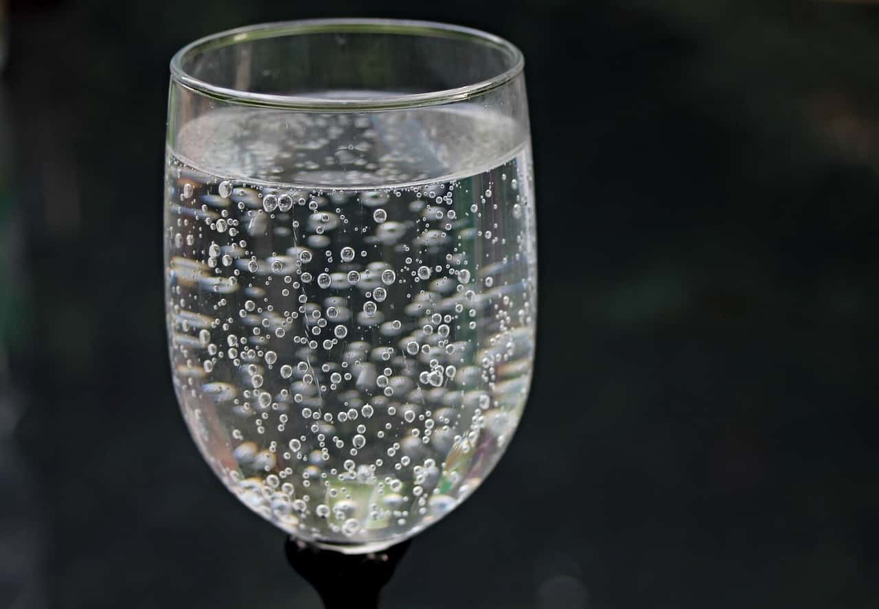 Glass With Bubbles