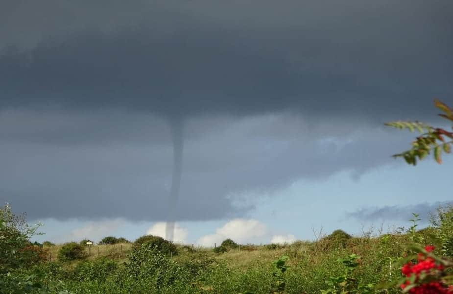 Tornado in Wilderness