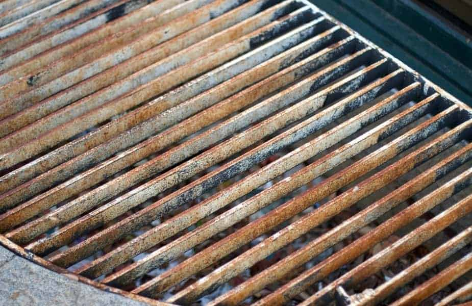 Rusty Cooking Grill