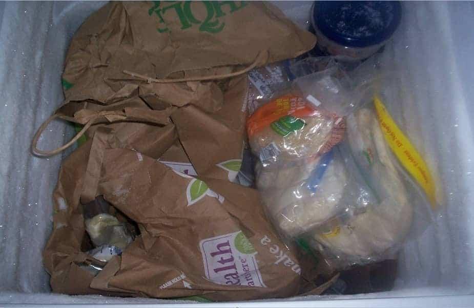 Poor Food Storage System in Freezer