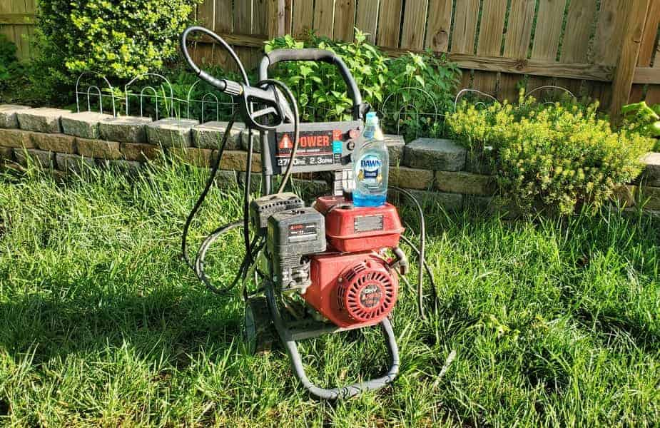 Power Washer with Dish Soap