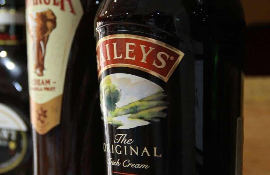 Bottle of Bailey's Irish Cream