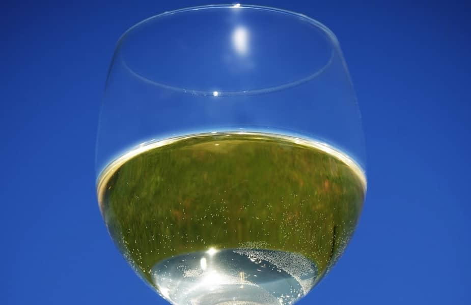 Wine Glass with Mead