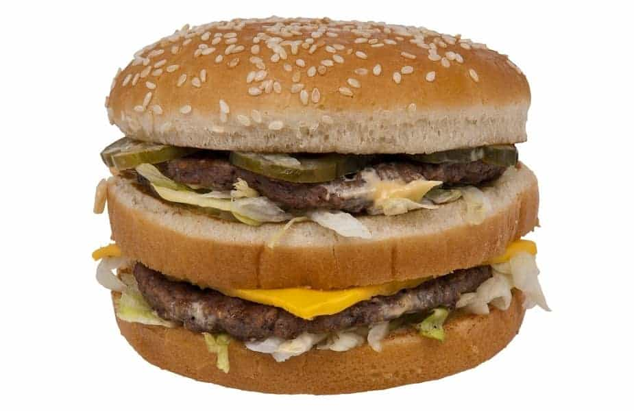 A Burger That Looks Like a Big Mac