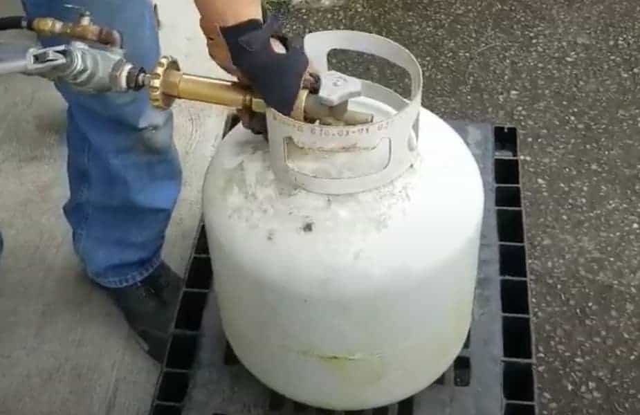 Filling Propane Tank