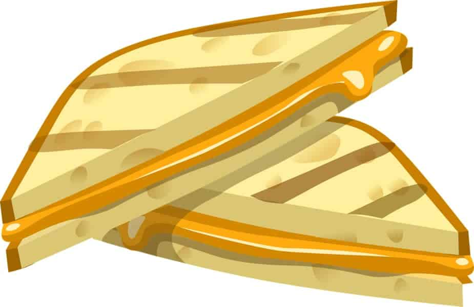 Grilled Cheese Sandwich Cartoon