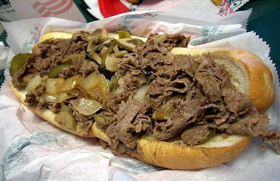 Philly Cheesesteak Sandwich With No Cheese