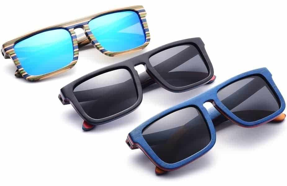 3 Pairs of Cartoon Polarized Sunglasses
