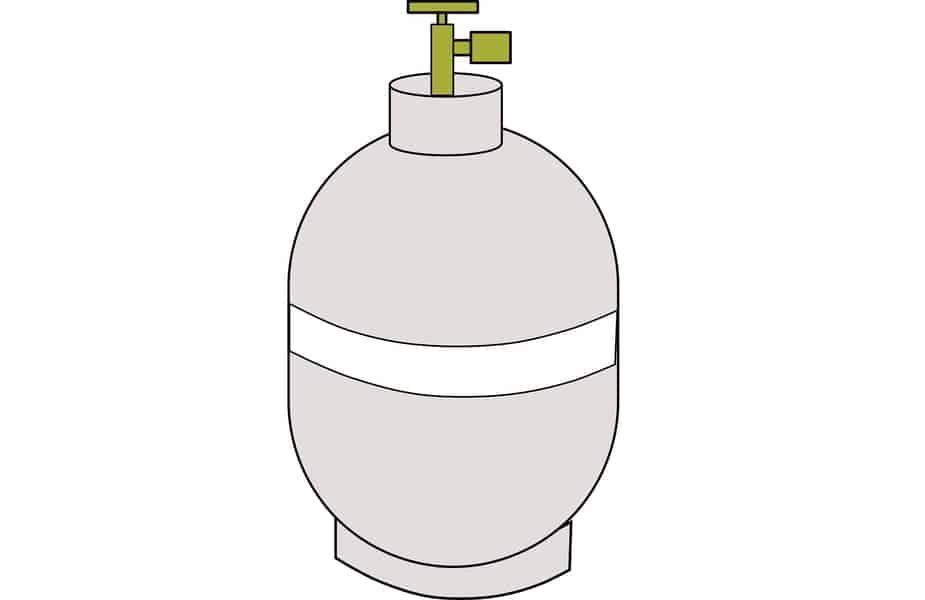 Small Propane Tank