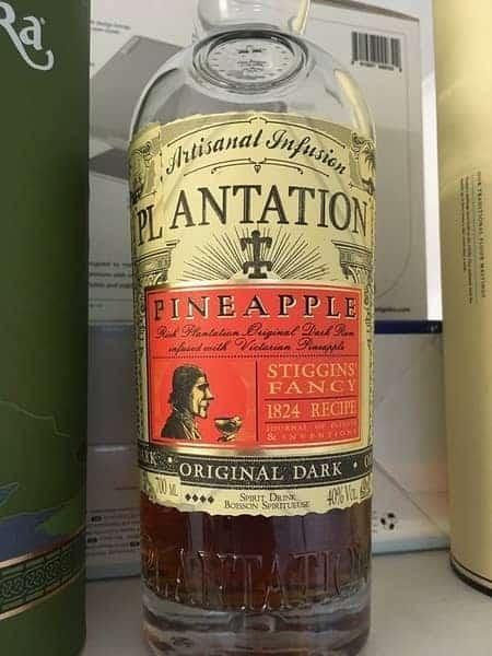 Plantation Rum Bottle