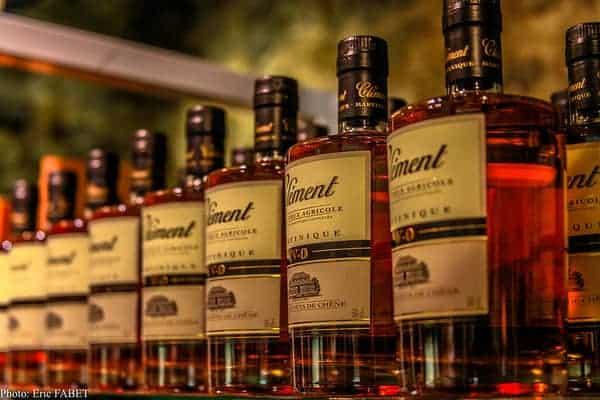 Rhum-Clement-Bottles-on-a-Shelf