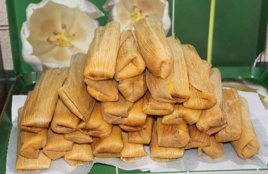 Pile of Cooked Tamales
