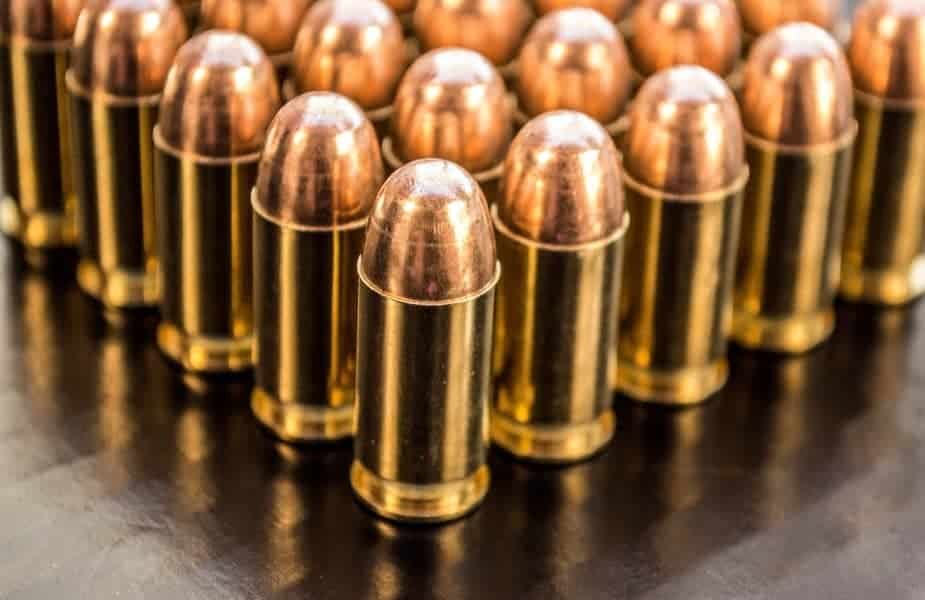 9mm Ammo and Firearm