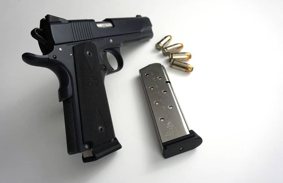 M1911 with 45ACP Ammo