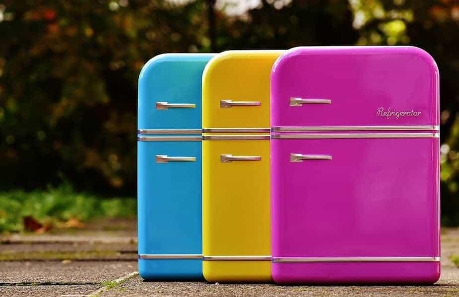 Three Mini Refrigerators