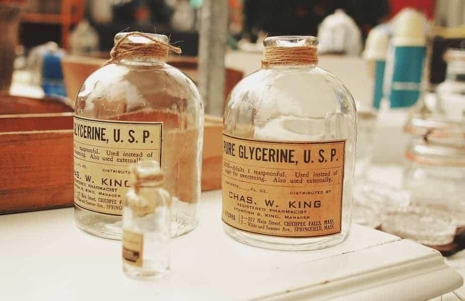Two Bottles of Glycerin