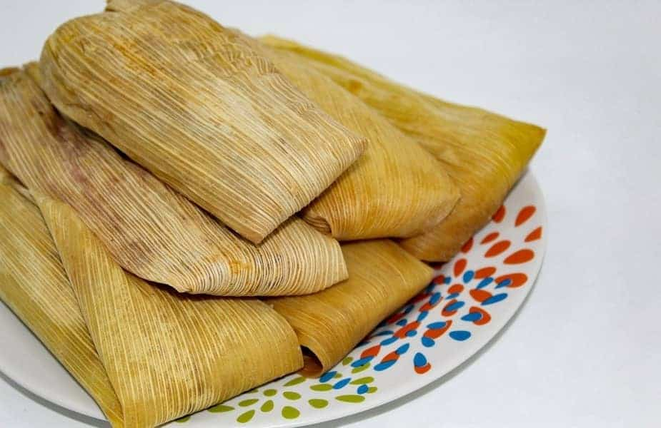 A Plate of Tamales